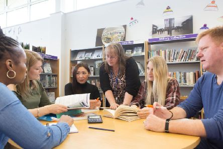 Adult learners. PIC: North Yorkshire County Council