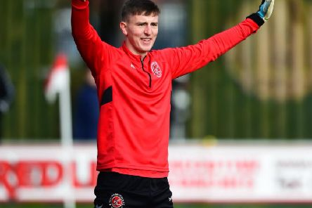 Billy Crellin will make his second senior appearance for Fleetwood on Sunday