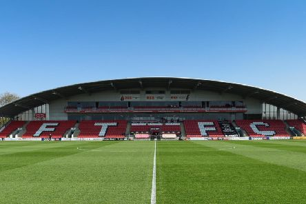Highbury will stage Fleetwood's Leasing.com Trophy Northern quarter-final in the New Year