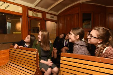 Young women and girls are being encouraged to work in the rail industry. 'Photos by Tangerine Event Photography [www.tangerineeventphotography.co.uk]