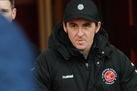 Joey Barton goes in search of a sixth successive Fleetwood win at Sunderland tonight