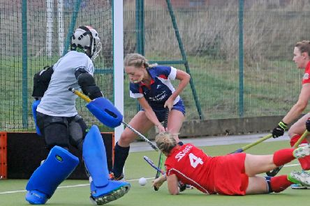 Georgia Perkins was on the scoresheet for Lytham St Annes Ladies