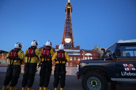 Blackpool Tower is going yellow for Mayday once again'Picture credit: Simon Hoole