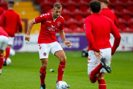 Tommy Spurr left Fleetwood midway through his season's loan from Preston