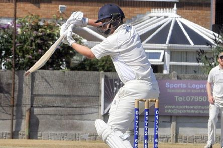 Tom Higson made 49 not out during St Annes' rain-interrupted match on Saturday