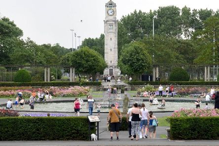 Stanley Park, a world heritage site, is visited by around 2 million people a year