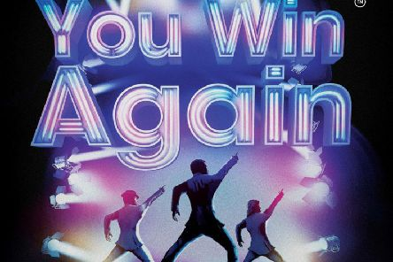 Bee Gees musical You Win Again comes to the Baths Hall next week.