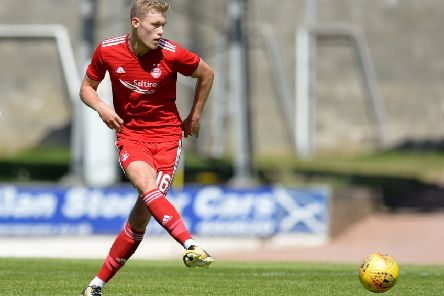 Prolific Aberdeen striker Sam Cosgrove, who is reportedly wanted by Derby County. (PHOTO BY: Mark Runnacles/Getty Images)