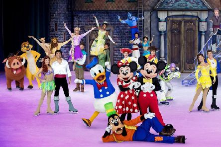 Disney on Ice is on at Sheffield and Nottingham this month.
