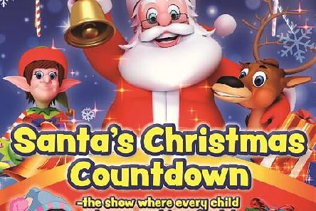 Santa's Christmas Countdown comes to Gainsborough this weekend.