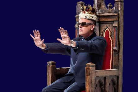 Suggs comes to Lincoln with his new show next year.