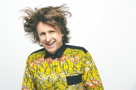 Milton Jones (Photo by Aemen Sukkar)