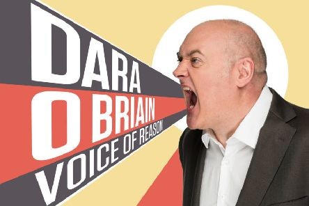 Dara O'Briain brings his new tour to the Baths Hall next week