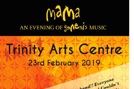 Genesis tribute band Mama are live in Gainsborough this weekend