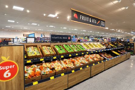 The new Aldi store.  Picture by Shaun Fellows / Shine Pix