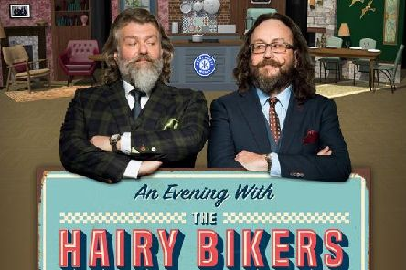 The Hairy Bikers are live at the Baths Hall next week