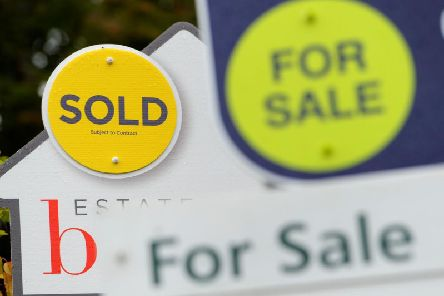 House prices fell again in Lincolnshire in February.