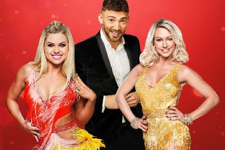 Jake Quickenden, Kristina Rihanoff and Oksana Platero star in Dance To The Music