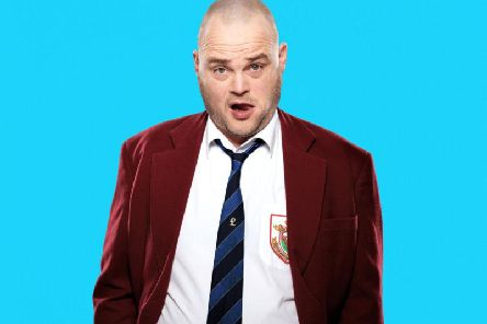 Al Murray is live at the Baths Hall this week.
