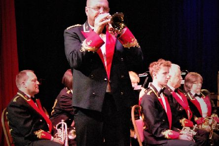 The City of Hull Band is live in Gainsborough this weekend.