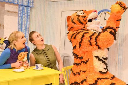 The Tiger Who Came to Tea is in Lincoln this weekend.