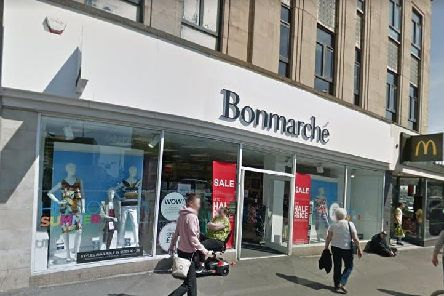 Bonmarche in Blackpool town centre (Picture: Google)
