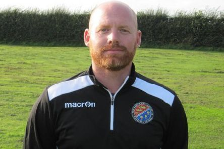 Garstang FC manager Richard Cookney