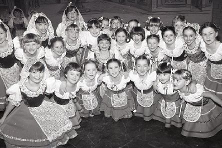 Cast members of Blackpol Children's pantomime - Pinocchio