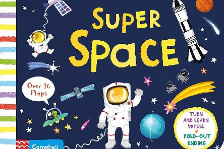 First Facts and Flaps: Super Spaceillustrated by Lon Lee