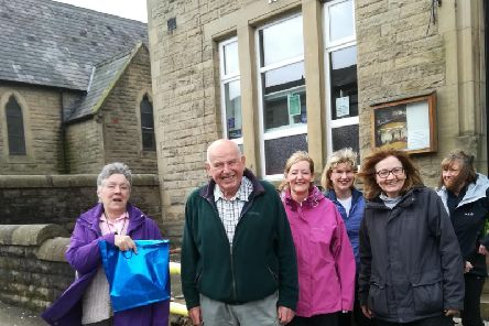 10 miles 10 pubs  charity walk 2019  committee members: Margaret Halsall, Jack Halsall, Joy Marsden and Margaret Harrison