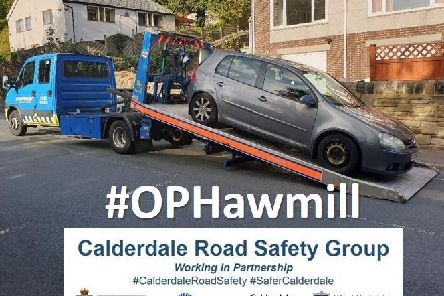 Vehicle seized as part of Operation Hawmill (Picture West Yorkshire Police)
