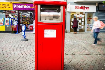 A new parcel post box, like the one pictured, has been introduced in Halifax