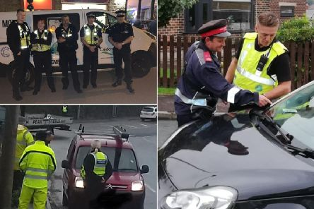 Week of enforcement in Calderdale (Pictures by Calderdale Council)