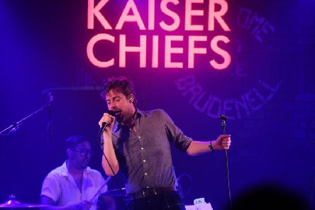Kaiser Chiefs will be performing at the Piece Hall