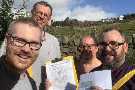 Wheatley Valley: Calderdale Liberal Democrats out campaigning.