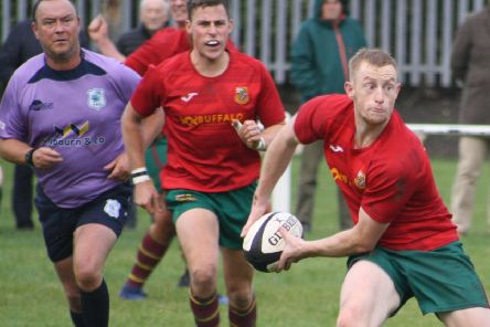Dan Cole in action for Heath
