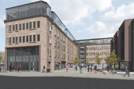 How Northgate House will look at in the future (Picture LDN Architects)