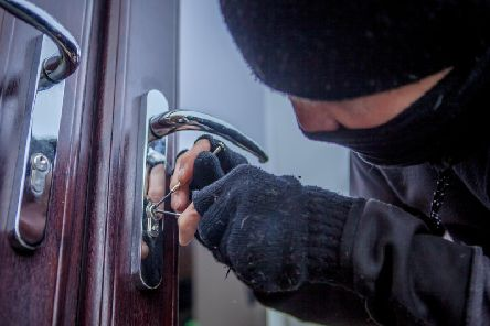 The attempted burglary happened on Tennyson Avenue, Sowerby Bridge