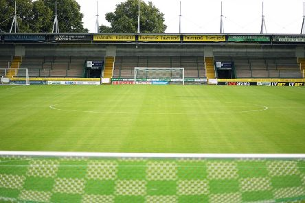 Huish Park. Photo: Getty Images.