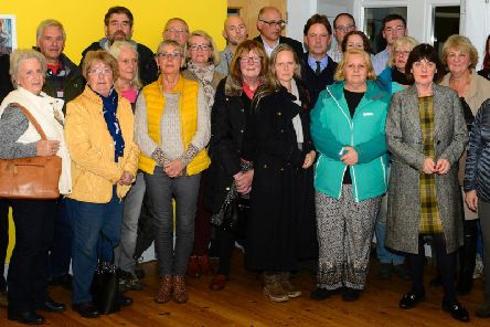Some of the residents opposed to the Hipperholme plans