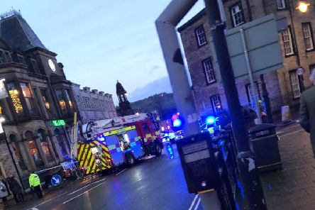 Emergency services called to incident at Fountain Street, Halifax town centre, on Saturday afternoon