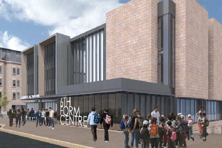 Artist impression of the new Halifax sixth form centre (LDN Architects)