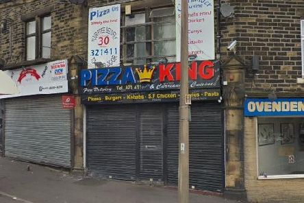 The incident took place at Pizza King, Ovenden.