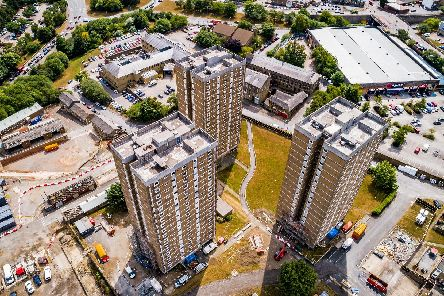 Beech Hill tower blocks