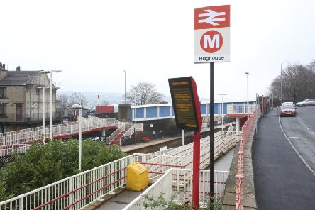 Brighouse train station has been closed this morning