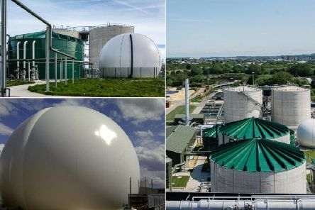 An anaerobic digestion plant in Sheffield