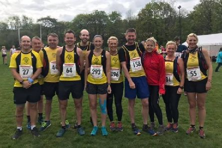 Northowram Pumas at the Bluebell race