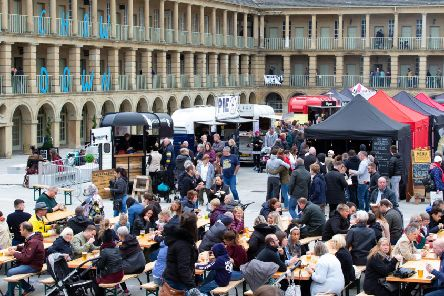 Chow Down at the Piece Hall, Halifax