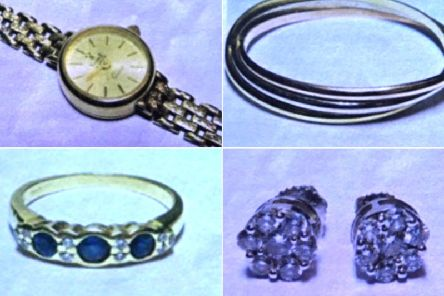 Jewellery items stolen