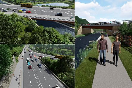 How the next phase of the A629 scheme will look (Pell Frischmann)